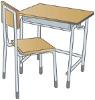 机と椅子2